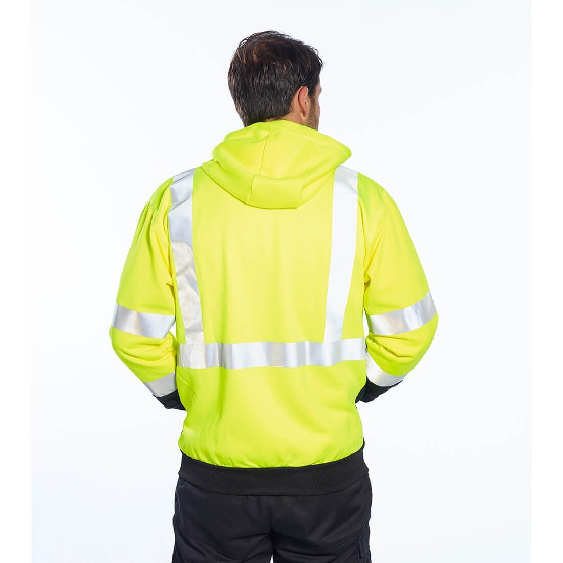 Hanorac HiVis Bicolor cu Fermoar - Imbracaminte de protectie