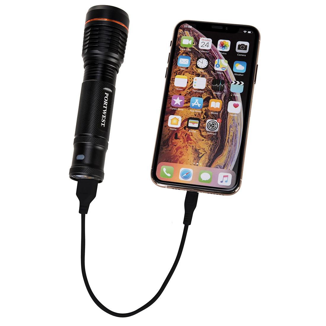 Lanterna cu incarcare USB - Echipamente Tehnice