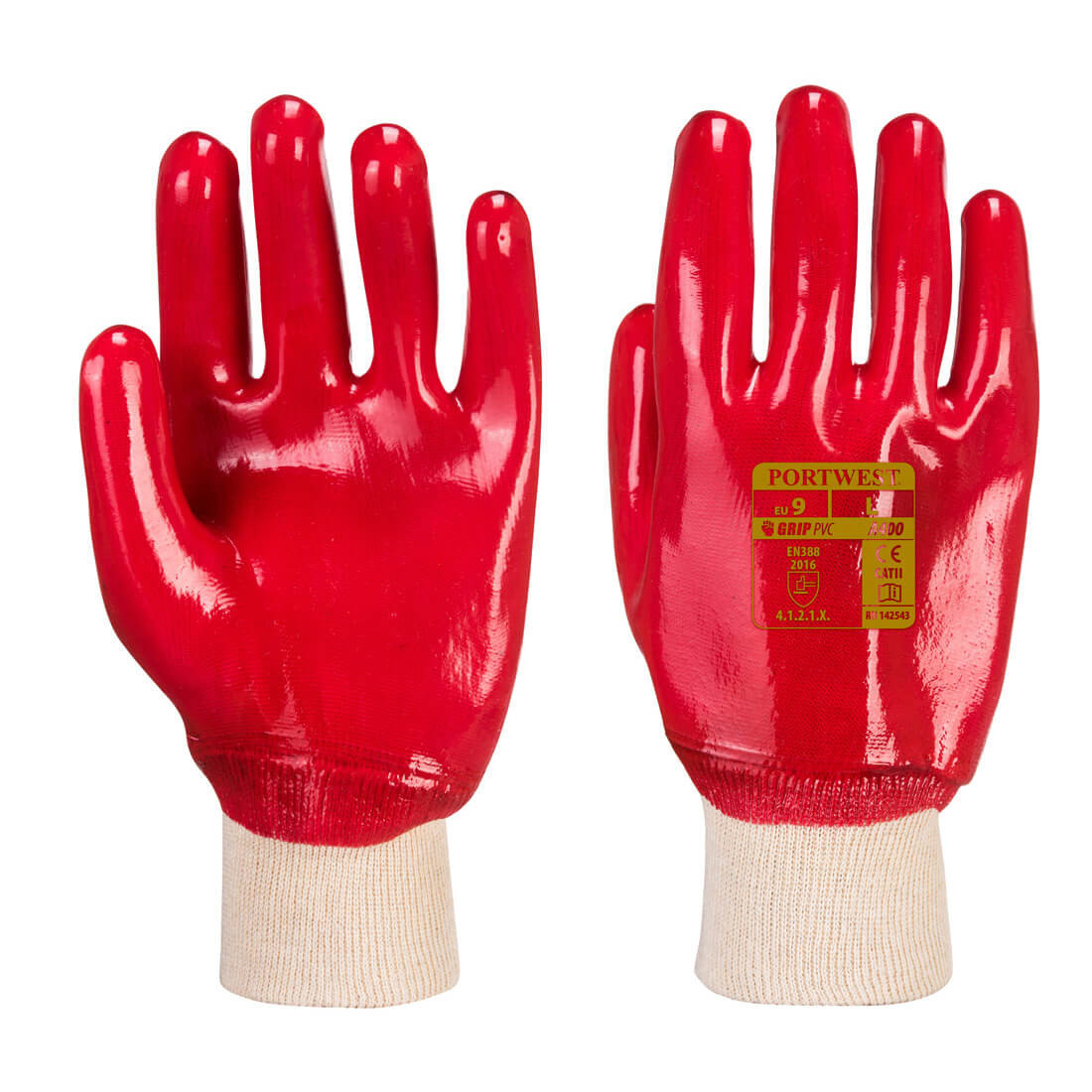 Manusa PVC Knitwrist - Echipamente de protectie personala