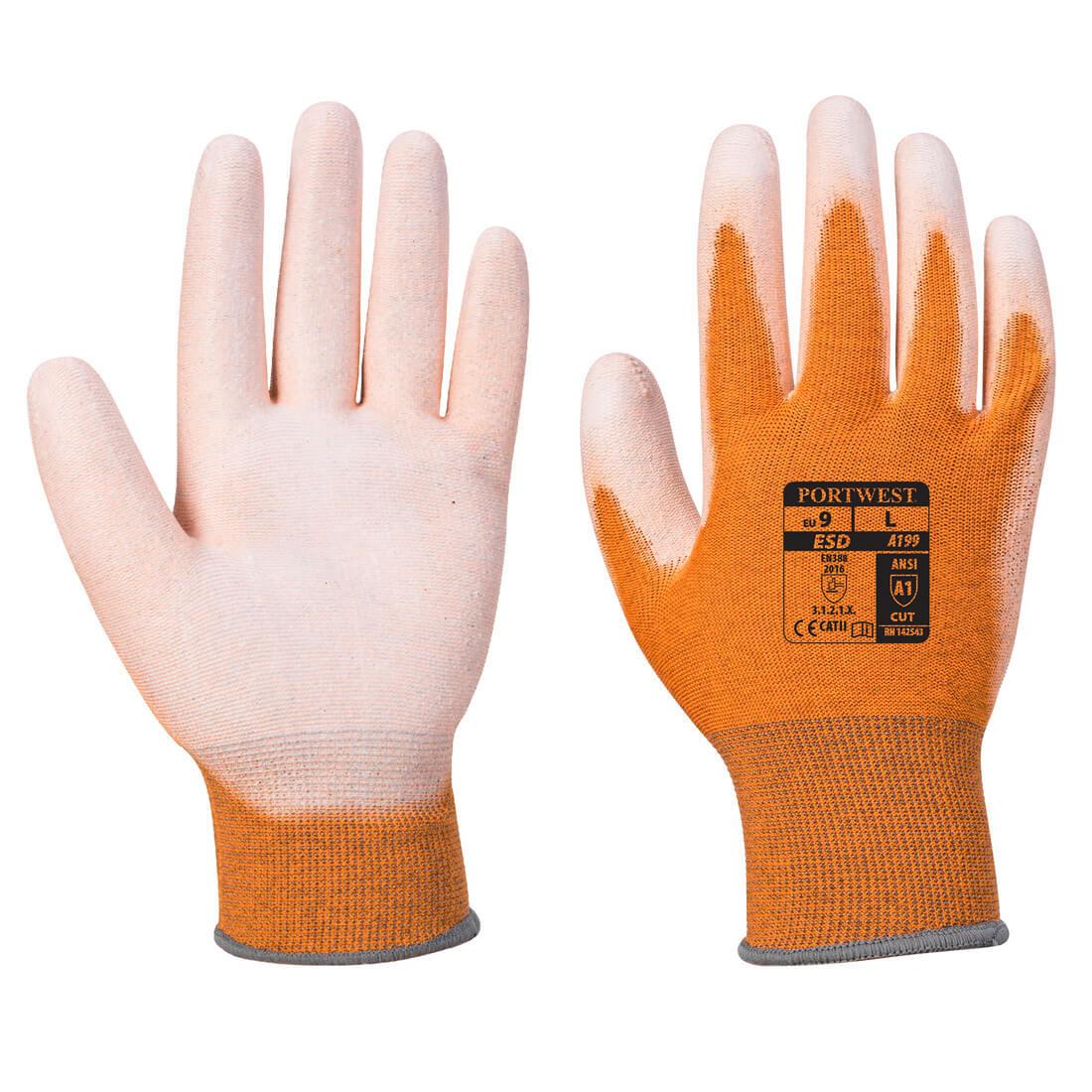 Manusi Antistatice PU Palm - Echipamente de protectie personala