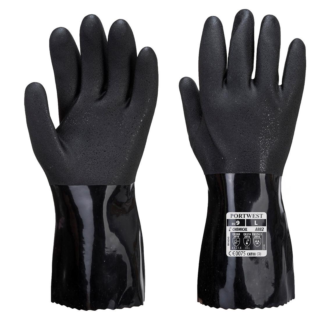 Manusi Chimice ESD PVC - Echipamente de protectie personala