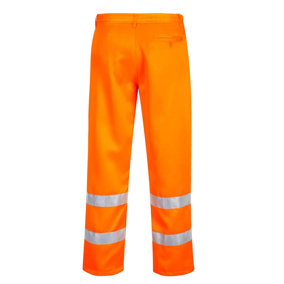 Pantaloni HiVis Poli Bumbac - Imbracaminte de protectie