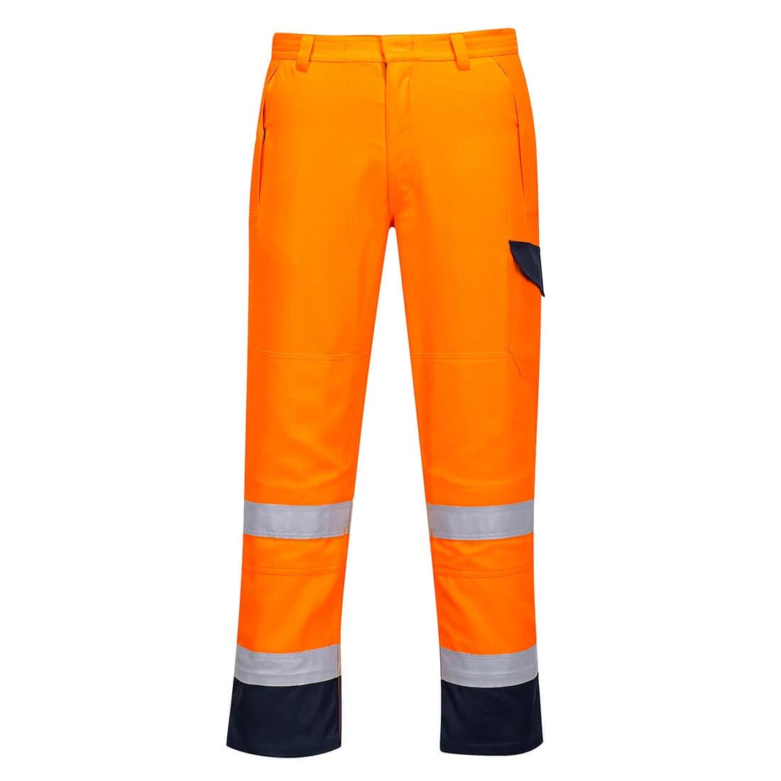 Pantaloni Modaflame RIS Portocaliu/Navy - Imbracaminte de protectie