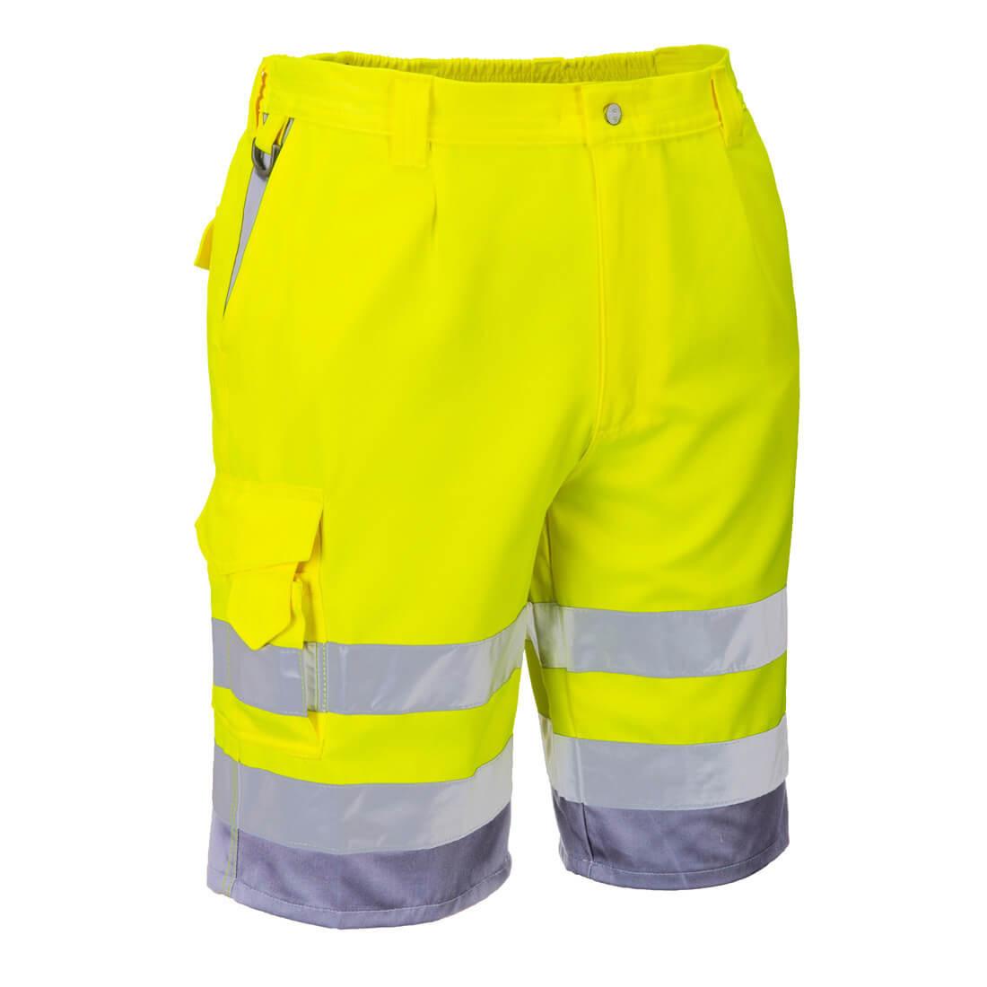 Pantaloni Scurti HiVis Poli Bumbac - Imbracaminte de protectie