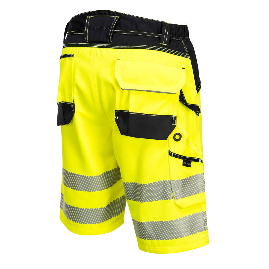 Pantaloni Scurți PW3 Hi-Vis - Imbracaminte de protectie