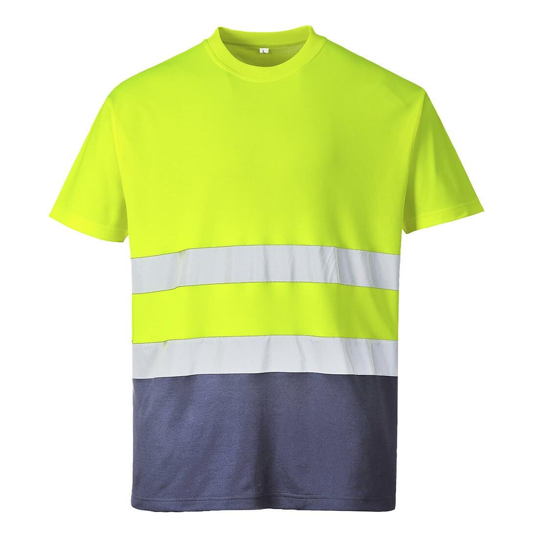 Tricou Bicolor din Bumbac Confort - Imbracaminte de protectie