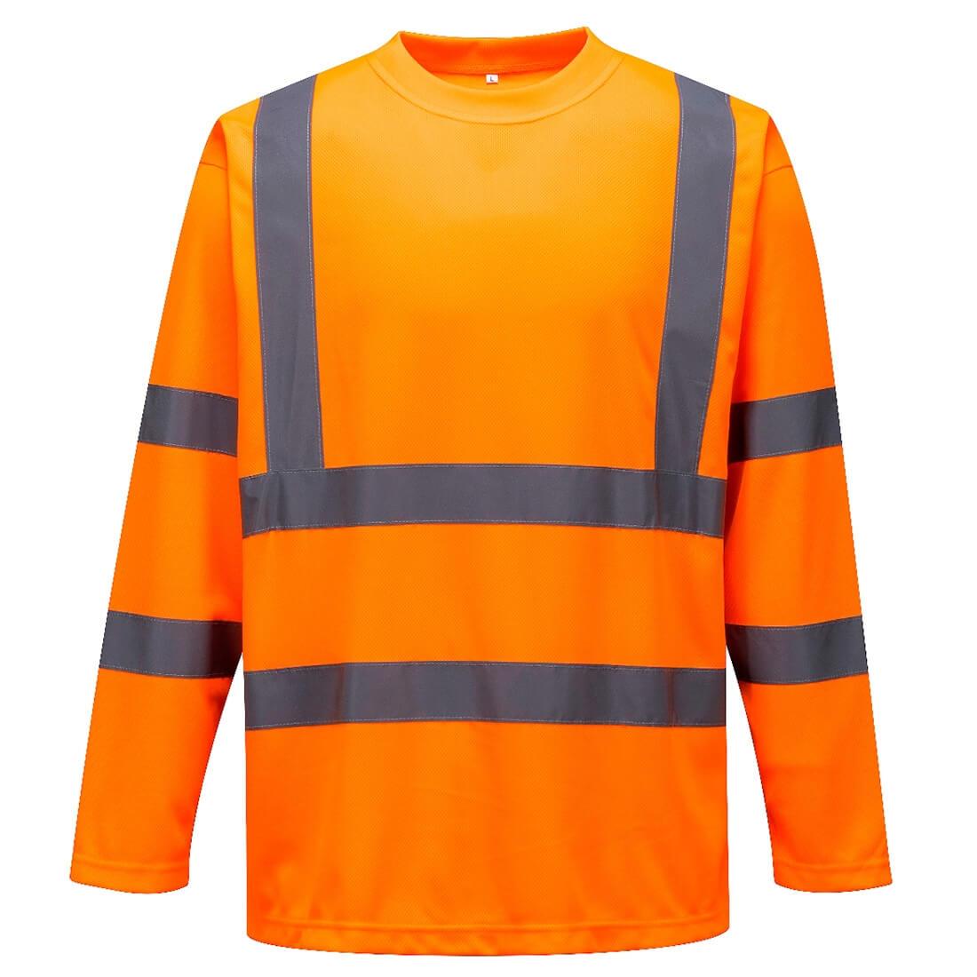 Tricou cu maneci lungi HiVis - Imbracaminte de protectie