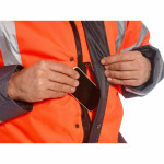 Jacheta Traffic Bicolora HiVis - Imbracaminte de protectie