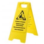 Semn avertizare: Se efectueaza curatenie - Echipamente Tehnice